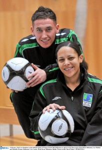 Official Launch of Project Futsal hub Ballymun by Ronnie Whelan