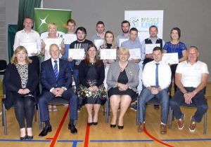 FAI - ETB Course Graduation at the Peace Link Clones 28th July 2